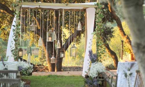 Decoración de bodas, ceremonias 02| La florería