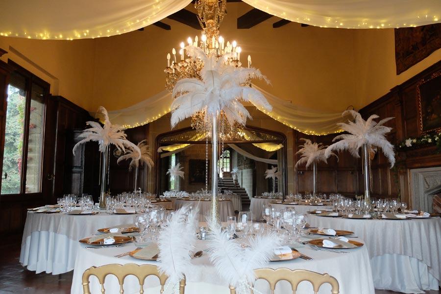 Centro de mesa Gran Gastby