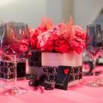 Diseño y creación de centro de mesa inspiración burlesque | La Florería