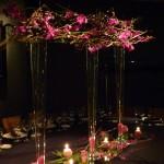 Diseño y creación de centro de mesa imperial sofisticado | La Florería