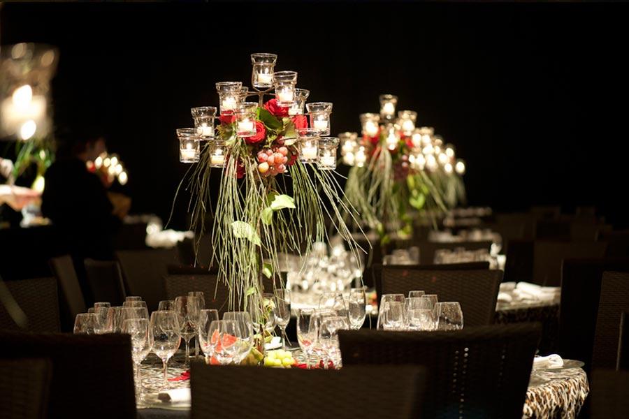 Centro de mesa para evento