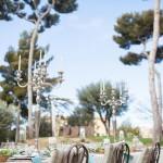 Centro de mesa para boda en jardín | La Florería