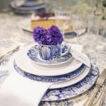 Centro de mesa para Brunch en Barcelona de inspiración British | La Florería