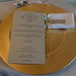 Detalle centro de mesa inspiración Gatsby para boda en La Baronía | La Florería
