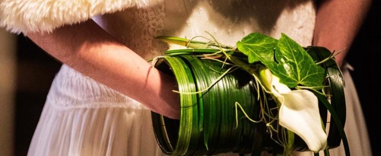 Ramo original en forma de manguito vegetal