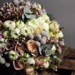 Diseño y creación de ramo de novia de invierno en Barcelona 00 | La Florería