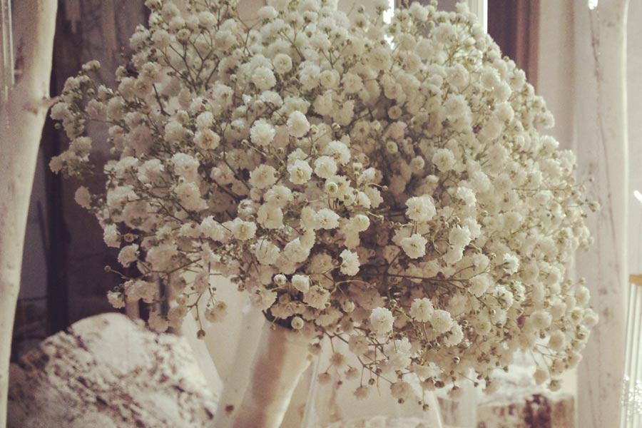 Ramo de novia sencillo