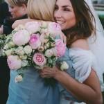 Decoración y creación de ramo de novia con rosas inglesas en ceremonia de Barcelona 00 | La Florería