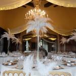Cena nupcial en la Baronía decorada por La Florería 00 |