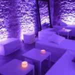 Decoración de espacio chill out en Palacio Barroco de Barcelona 00 |La Florería