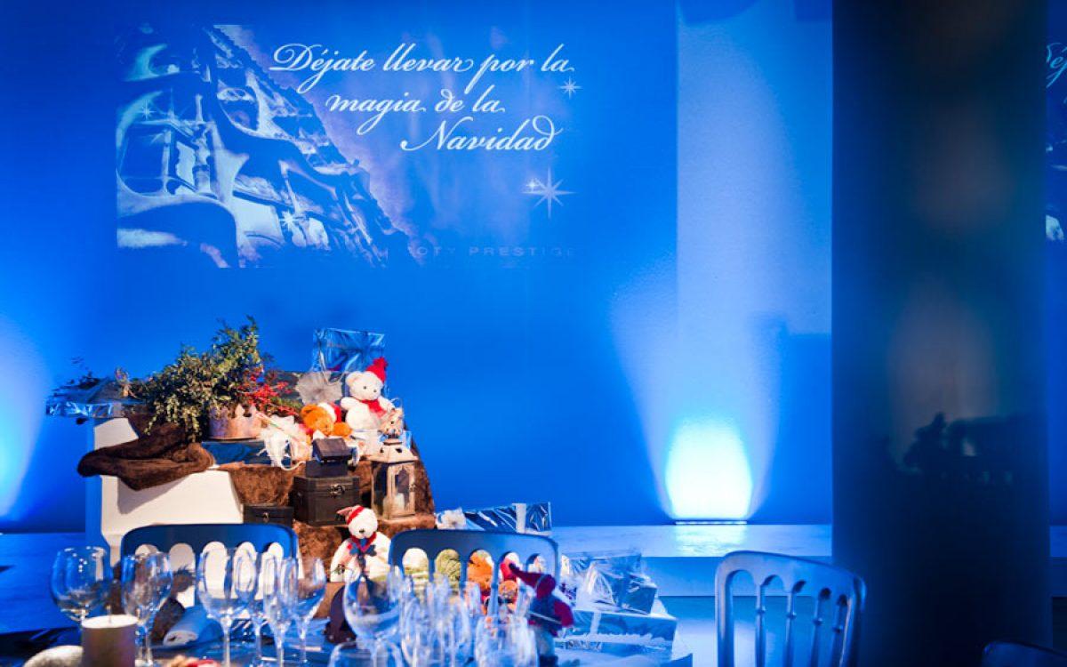 Casa Batlló decorada por la Florería para cena Navidad Coty Prestige 03 | La Florería