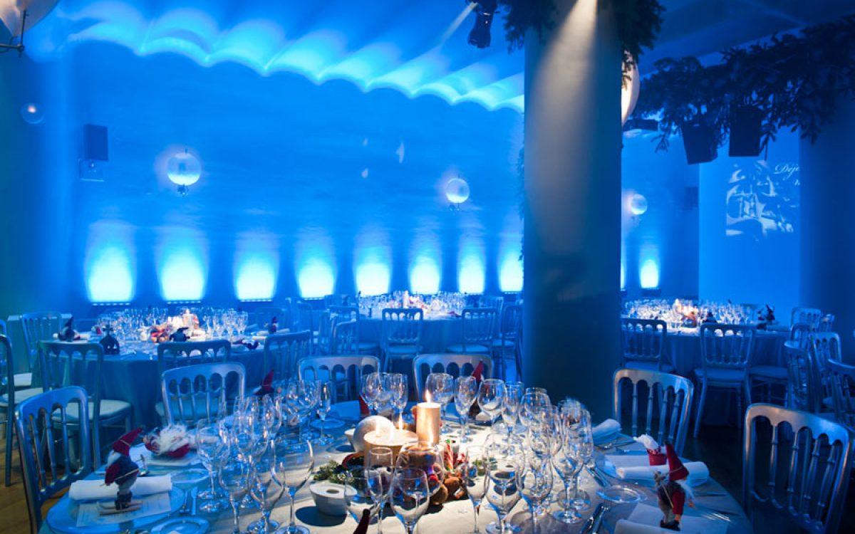 Casa Batlló decorada por la Florería para cena Navidad Coty Prestige 10 | La Florería