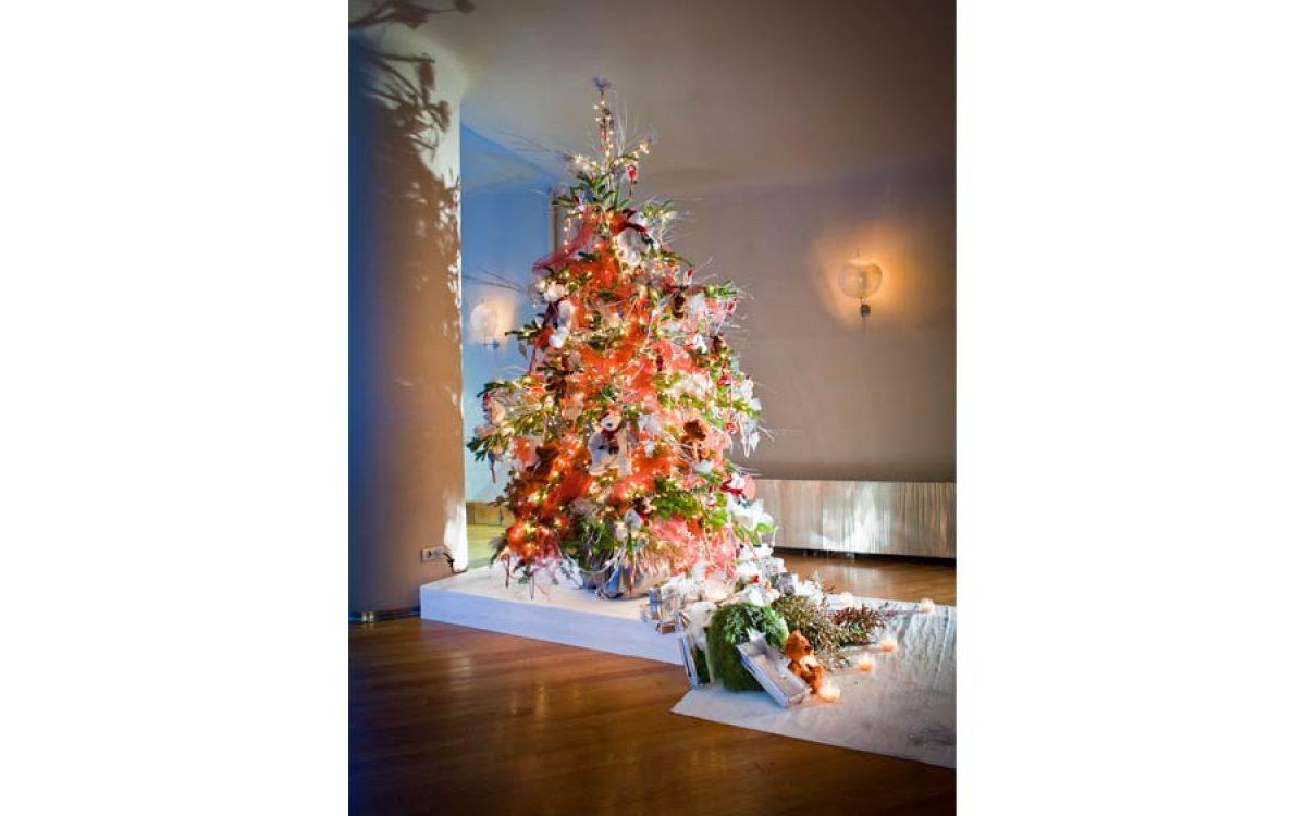 Casa Batlló decorada por la Florería para cena Navidad Coty Prestige 14 | La Florería
