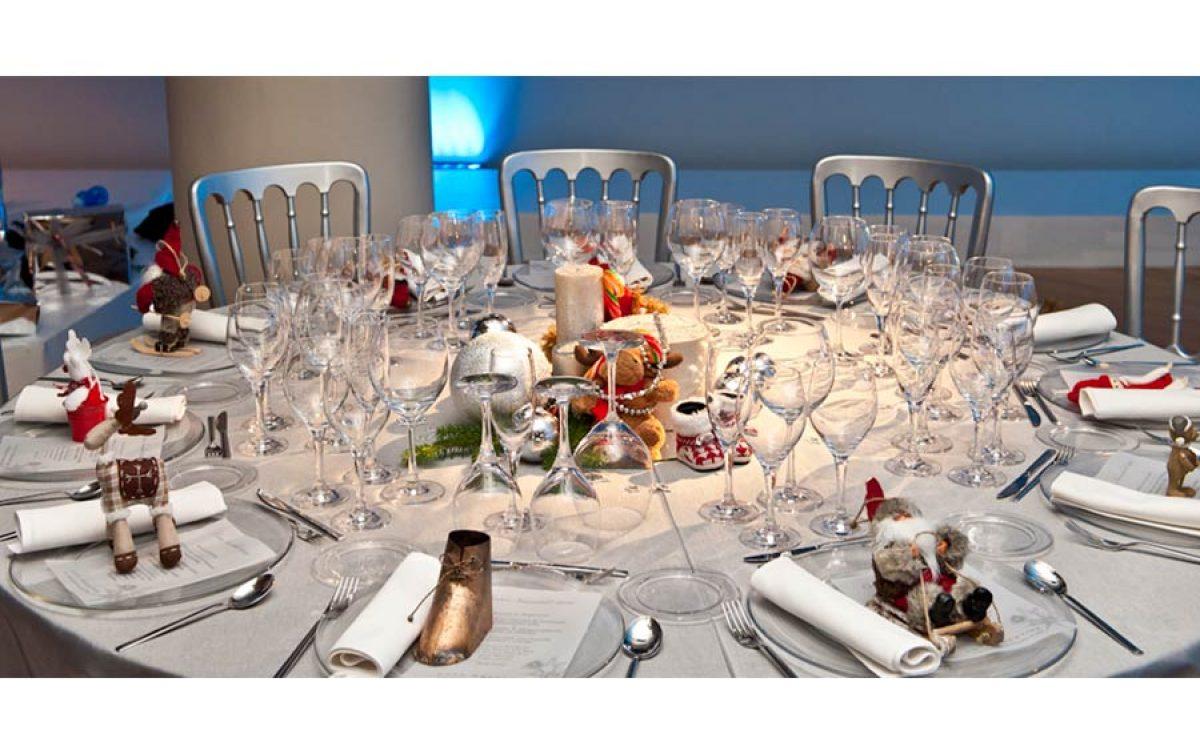 Casa Batlló decorada por la Florería para cena Navidad Coty Prestige 18 | La Florería