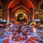 Museu Maritim Cena de Navidad de Coty Prestige en sala Teatro de Barcelona 06 | La Florería