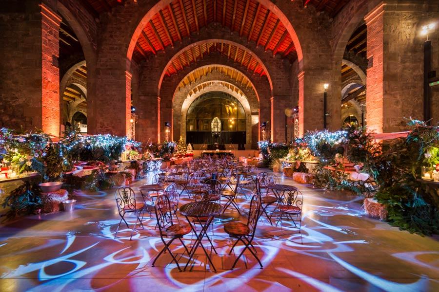 Decoración Cena Navidad <br>Coty Prestige en Museu Maritim
