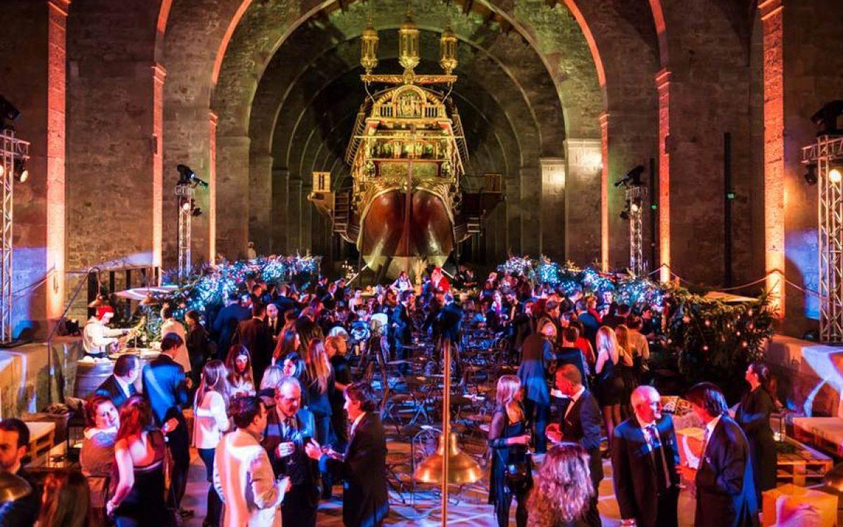 Museu Maritim Cena de Navidad de Coty Prestige en sala Teatro de Barcelona 41 | La Florería