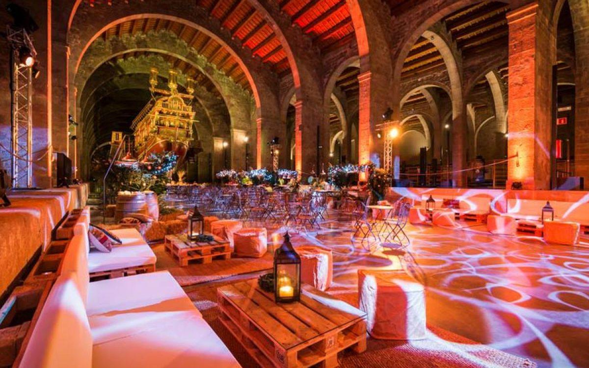 Museu Maritim Cena de Navidad de Coty Prestige en sala Teatro de Barcelona 23 | La Florería