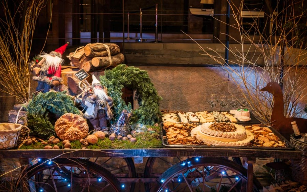 Museu Maritim Cena de Navidad de Coty Prestige en sala Teatro de Barcelona 14 | La Florería