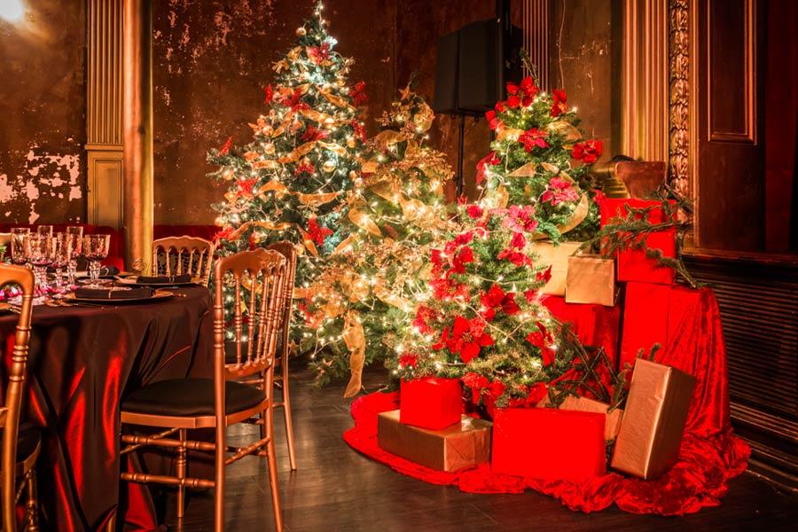 Decoración Cena Navidad <br> en Teatro