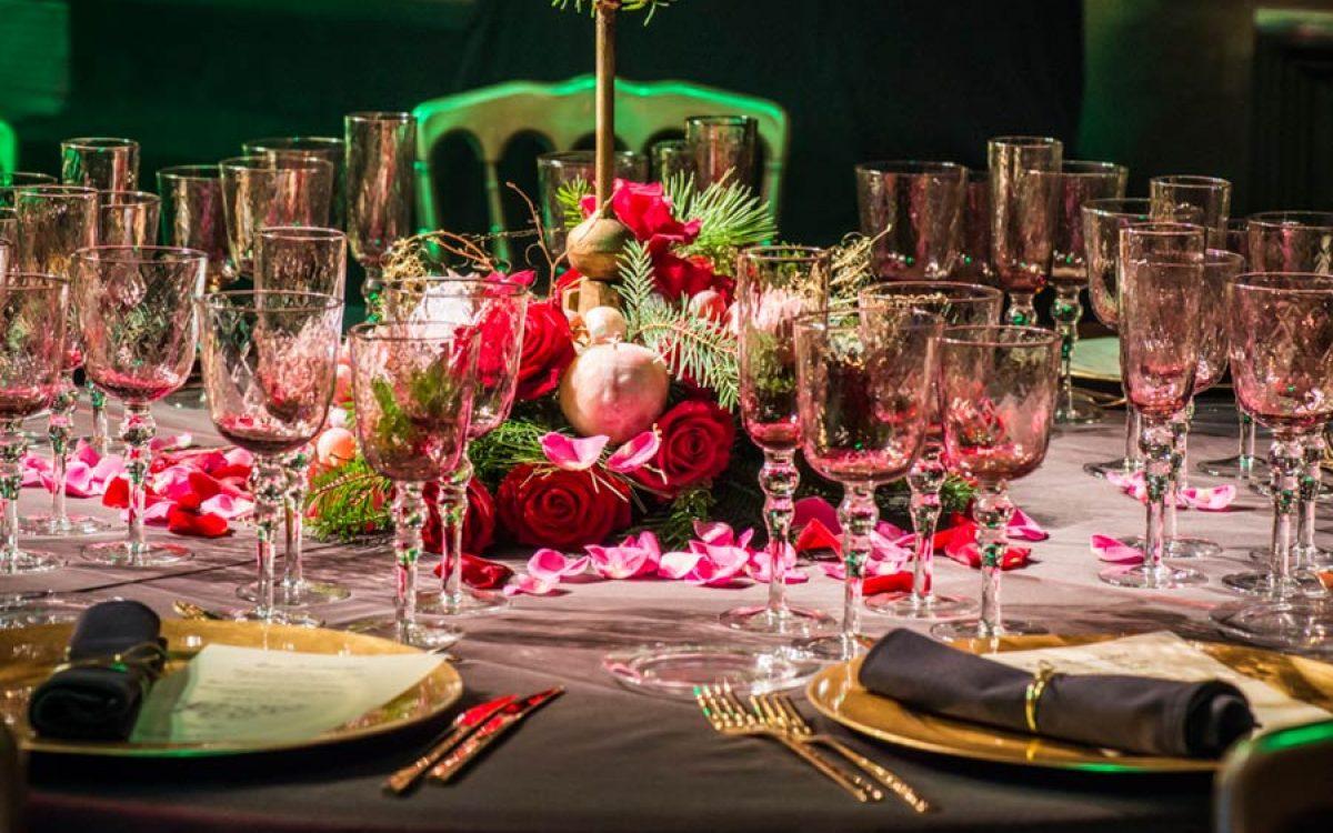 Cena de Navidad de Coty Prestige en sala Teatro de Barcelona 58 | La Florería