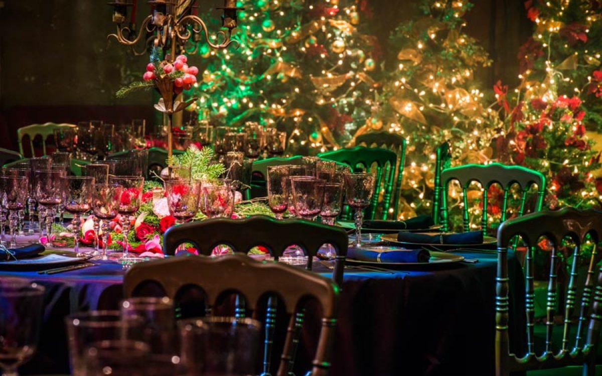 Cena de Navidad de Coty Prestige en sala Teatro de Barcelona 55 | La Florería