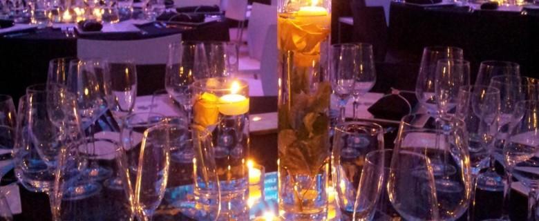 Decoración evento de empresa,<br> cena de Gala en el Mnac