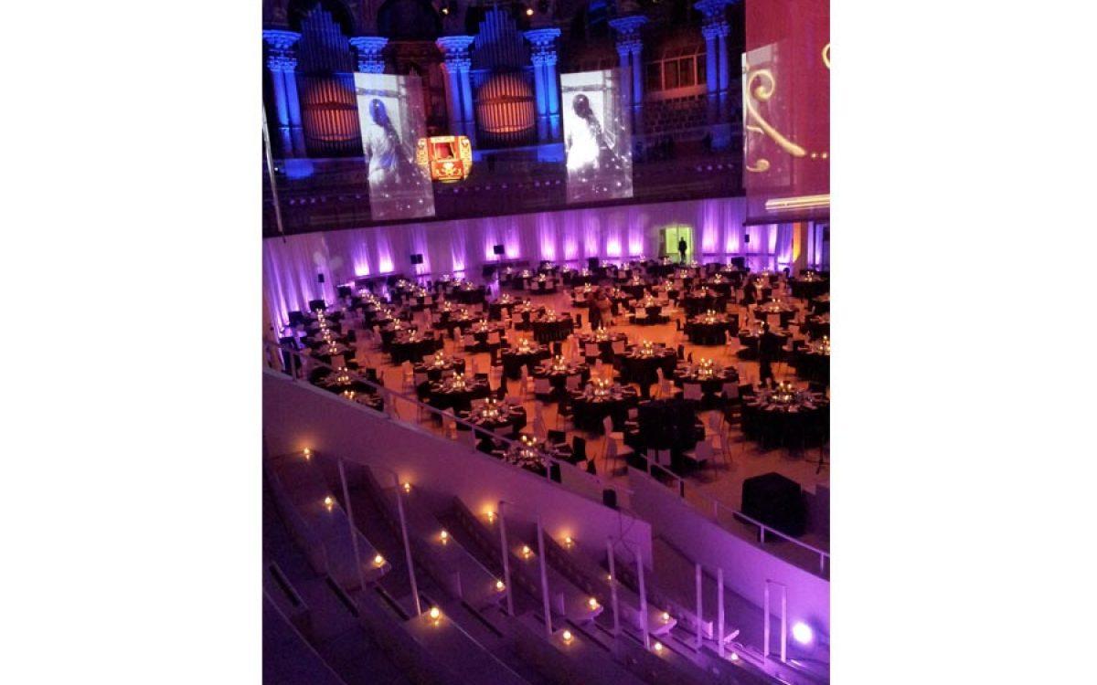 Decoración evento de empresa, cena de Gala en el Mnac Barcelona 18 | La Florería