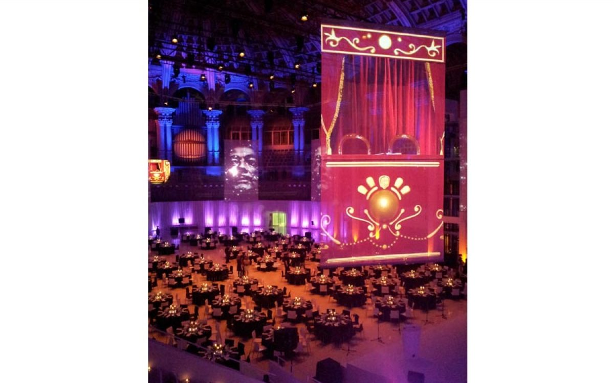 Decoración evento de empresa, cena de Gala en el Mnac Barcelona 12 | La Florería