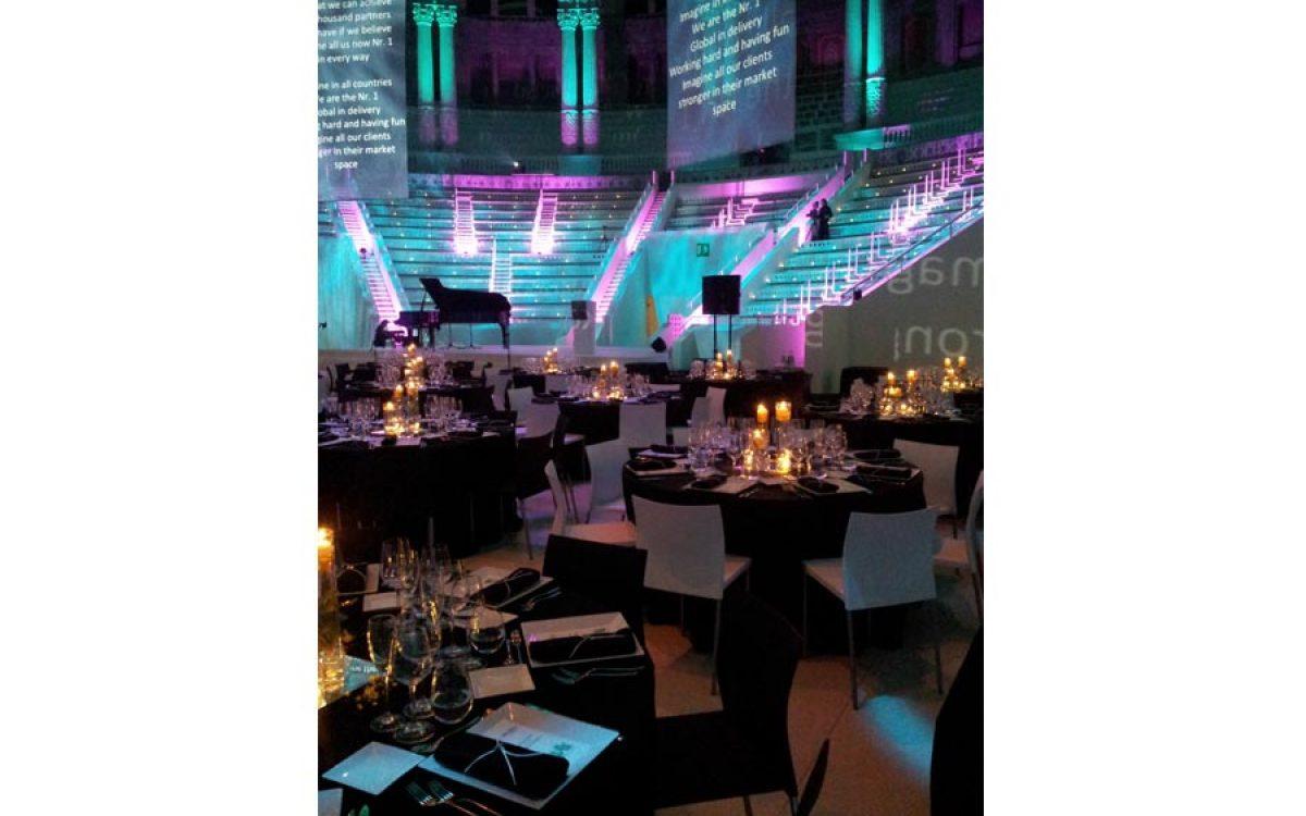 Decoración evento de empresa, cena de Gala en el Mnac Barcelona 09 | La Florería