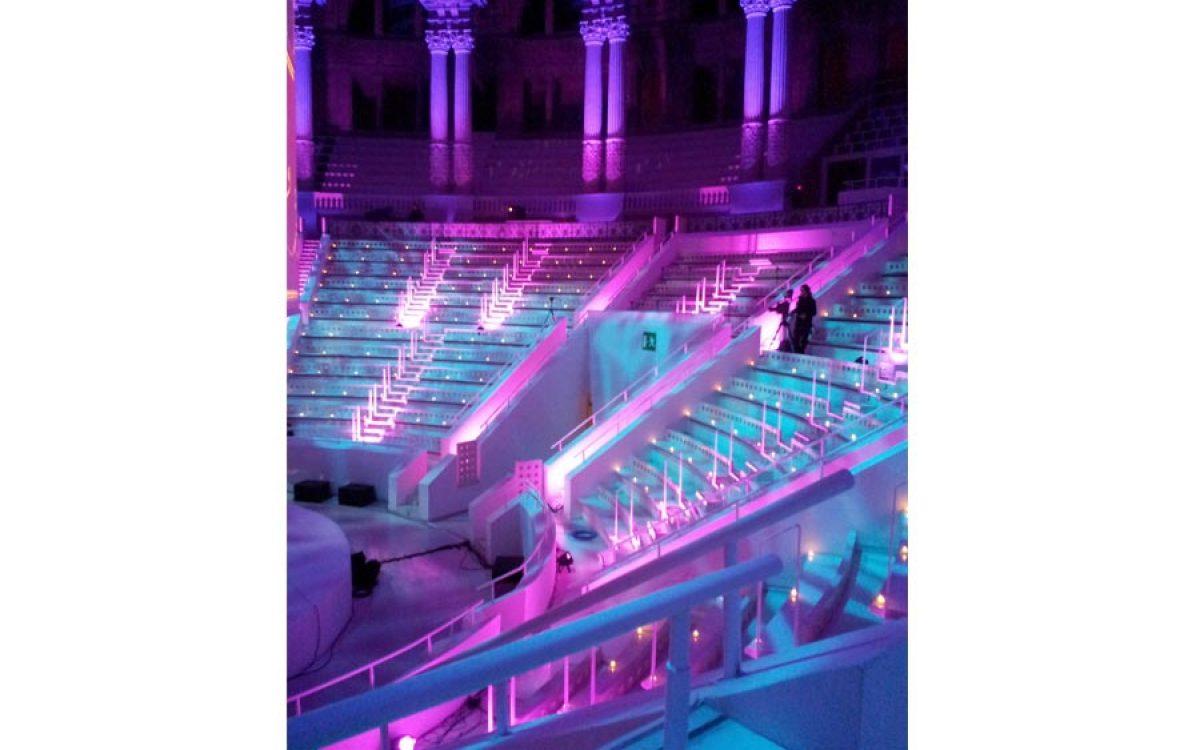 Decoración evento de empresa, cena de Gala en el Mnac Barcelona 03 | La Florería
