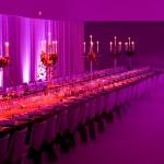 Decoración y puesta en escena de evento de empresa cena de Navidad 01 | La Florería