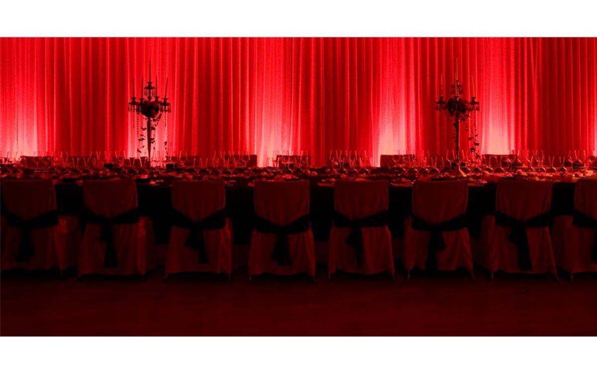 Decoración y puesta en escena de evento de empresa cena de Navidad 05 | La Florería