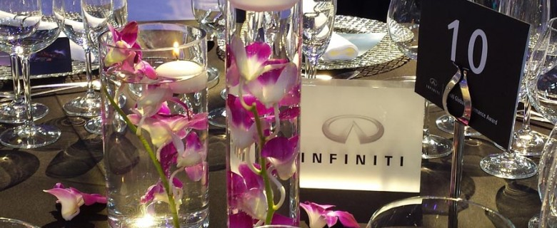 Decoracion evento de empresa <br> Infiniti  Fórmula 1