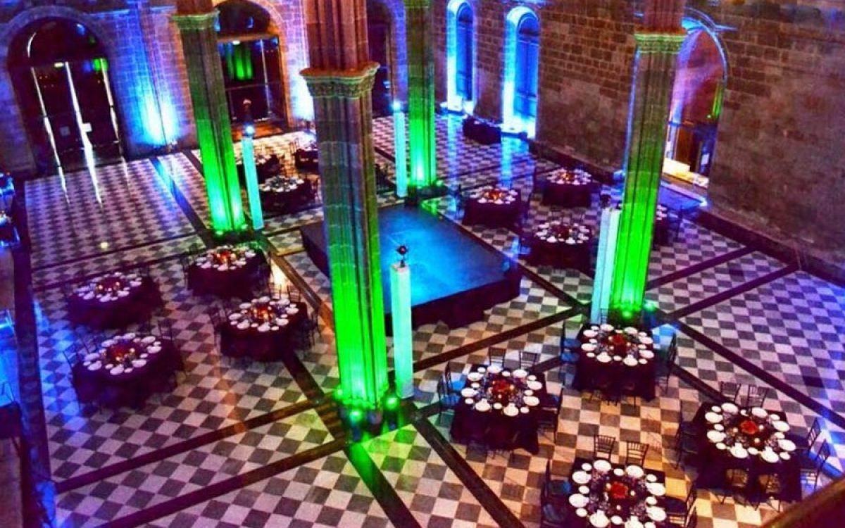 Decoración de mesas para cena de gala en La Llotja Barcelona 00 | La Florería