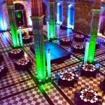 Decoración de mesas para cena de gala en La Llotja Barcelona 01 | La Florería