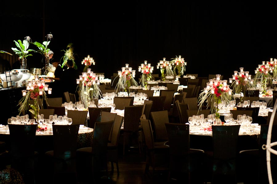 Decoración evento de empresa<br> cena de gala