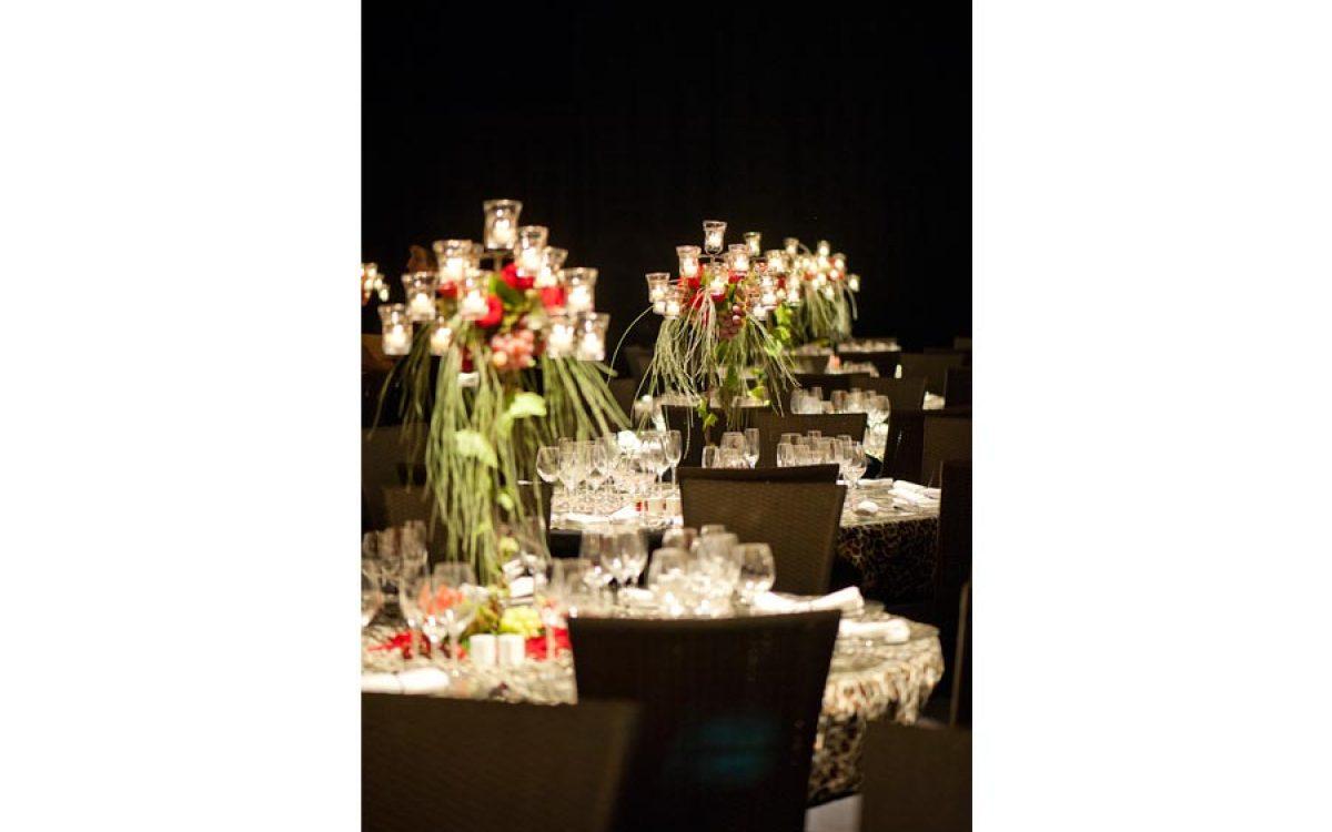 Decoración evento de empresa, cena de gala 06 | La Florería