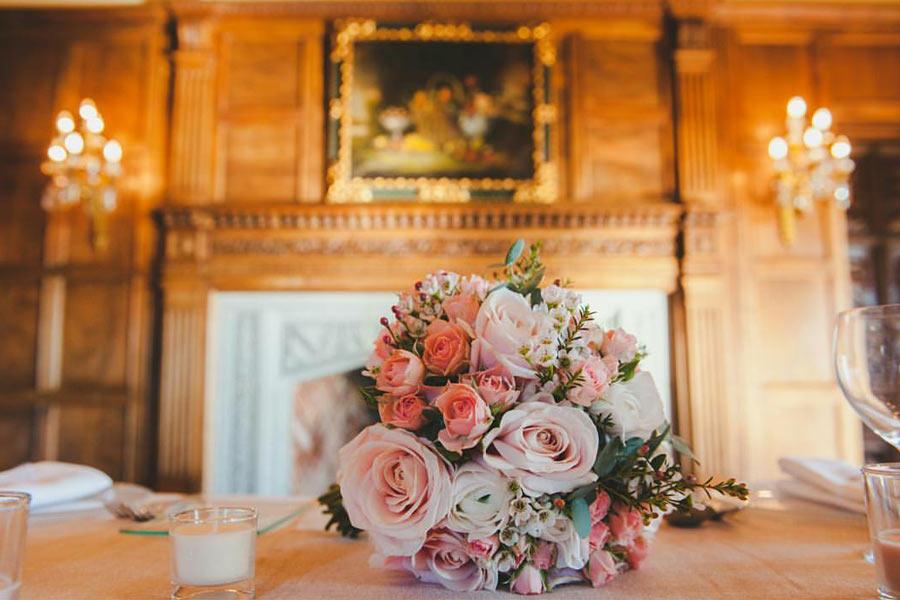 Bouquet de Rosas rosa palo.