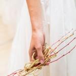 Tocado de novia organico|la floreria