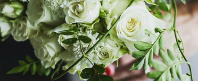 Bouquet clásico Jardín Blanco