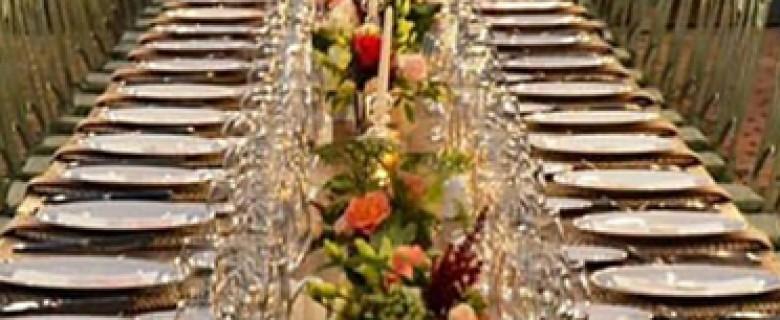 Centro de mesa para bodas inspiración Botanic