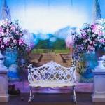 Diseño y creación de decoración photocall romántico Barroco 00 | La Florería