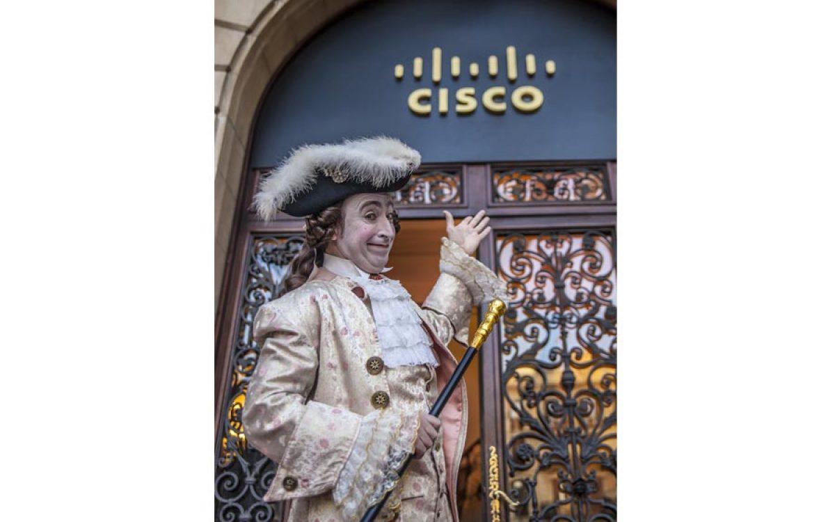 Decoración evento de empresa Vip de Cisco por La Florería 30 | La Florería
