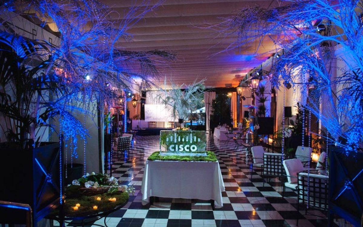 Decoración evento de empresa Vip de Cisco por La Florería 07 | La Florería
