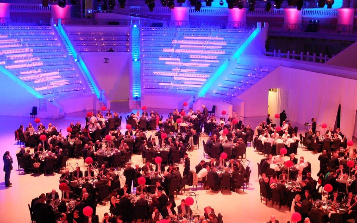 Decoración evento empresa en MNAC por La Florería 12 | LA Florería