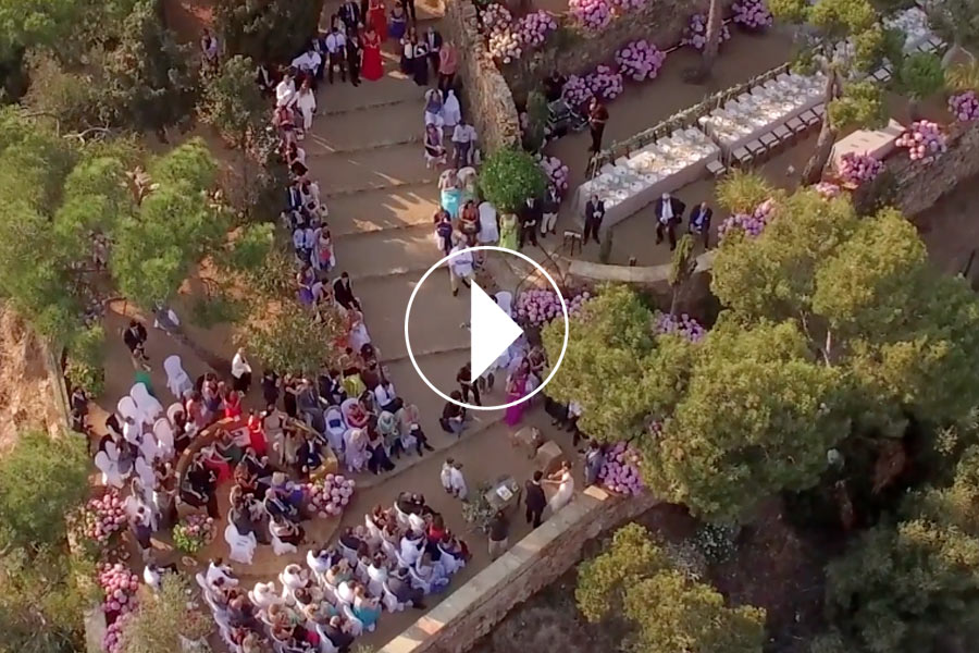 Video boda cerca del mar decorada por La Florería 00 | La Florería