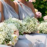 Ramo damas de honor para enlace en Barcelona diseñado por La Florería | La Florería