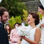 Diseño y creación de ramo con plumas para novia 00 |La Florería