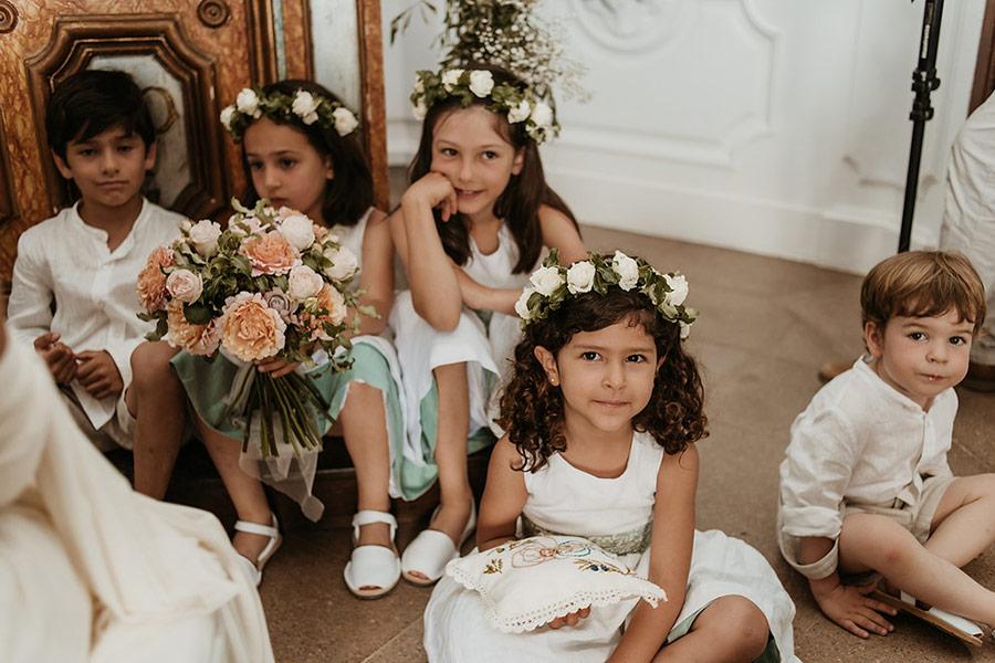 Decoración floral en boda en el Convent de Blanes por La Florería 10 | La Florería